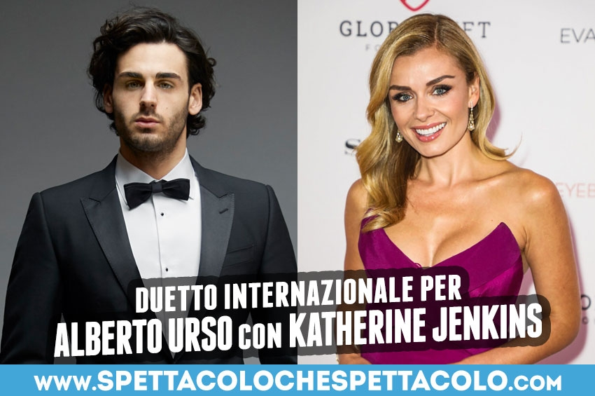 Alberto Urso duetta con Katherine Jenkins