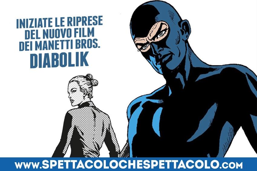 Diabolik: iniziate le riprese del nuovo film dei Manetti Bros. con Luca Marinelli