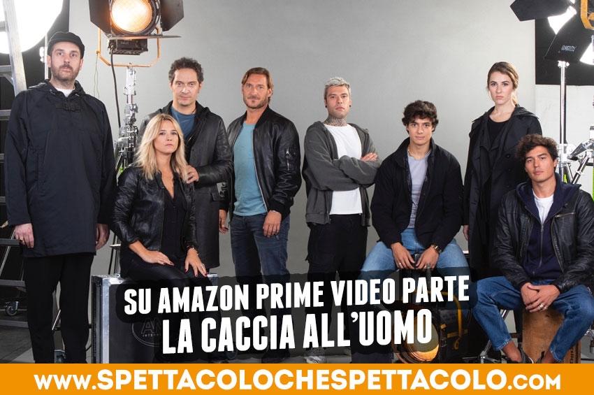Caccia all'uomo, da Totti a Fedez ricercati su Amazon Prime Video