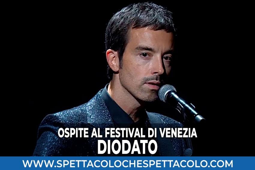 Diodato ospite al Festival di Venezia
