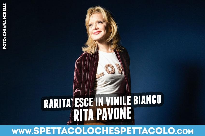 """Rita Pavone: """"raRità"""" in doppio vinile bianco!"""