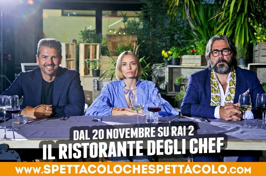Il ristorante degli chef: il primo talent show culinario di Rai 2