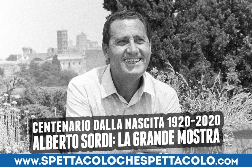 Alberto Sordi: la mostra del centenario 1920 - 2020