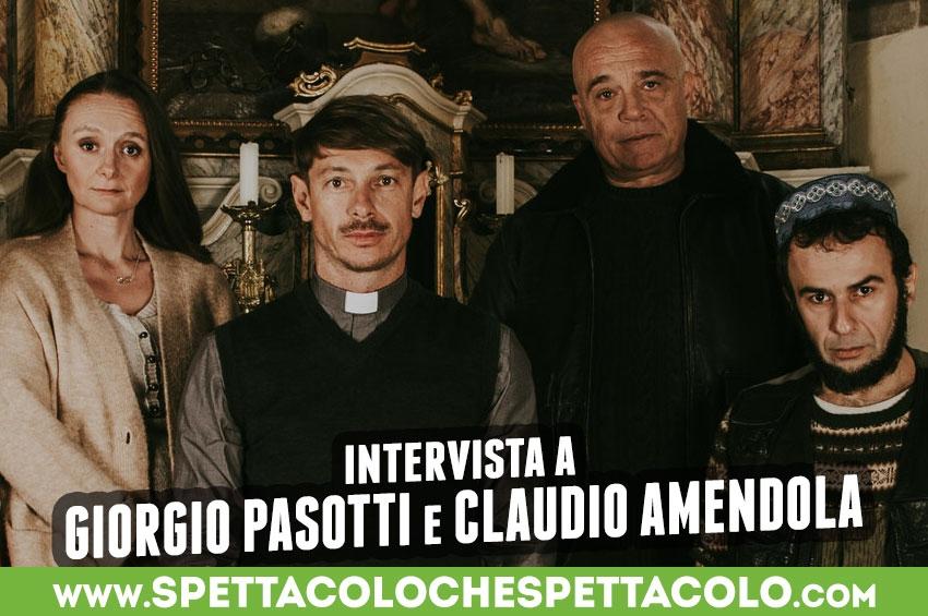 Abbi Fede: intervista a Giorgio Pasotti e Claudio Amendola