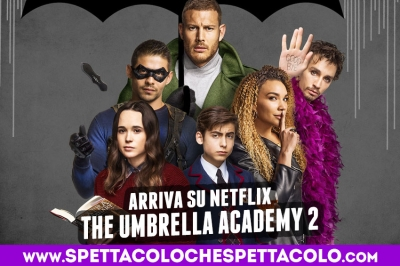 The Umbrella Academy 2 su Netflix