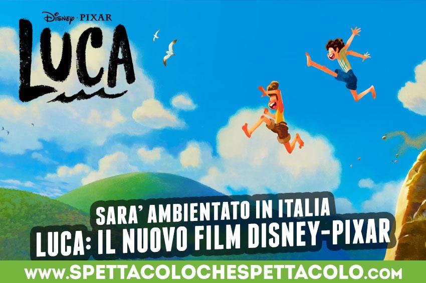 Luca: il nuovo film Disney-Pixar parla italiano