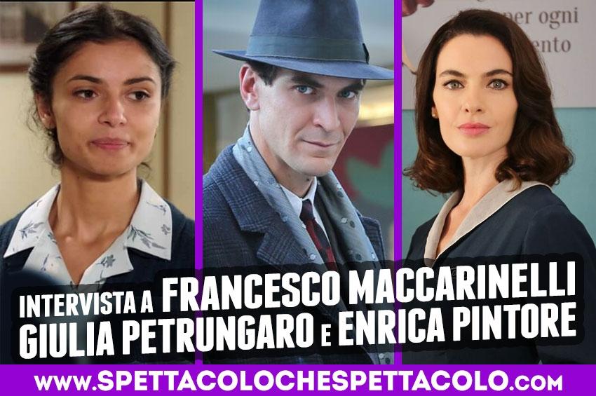 Il Paradiso delle Signore Daily: Francesco Maccarinelli, Giulia Petrungaro, Enrica Pintore