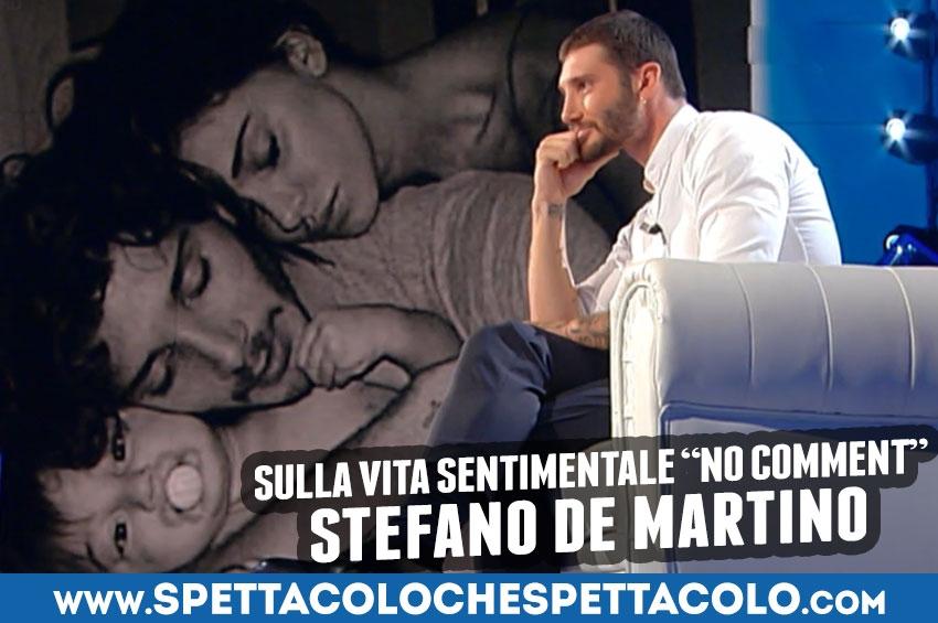 Stefano De Martino fa capire di amare ancora Belen