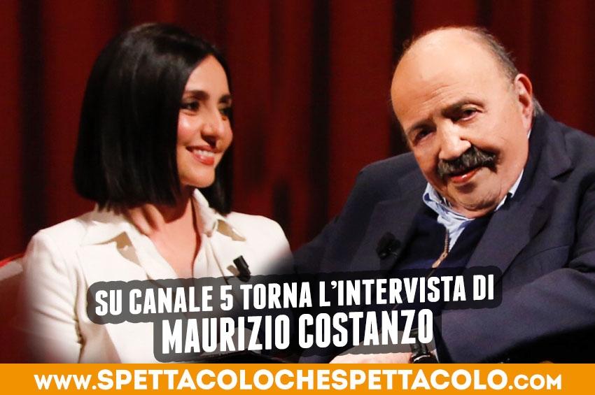 Maurizio Costanzo torna su Canale 5
