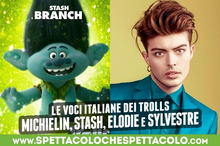 Michielin, Stash, Elodie e Sylvestre le voci italiane dei Trolls