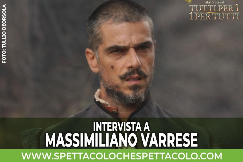 Tutti per 1 - 1 per tutti | Intervista a Massimiliano Varrese: essere il primo 007 della storia è una figata!