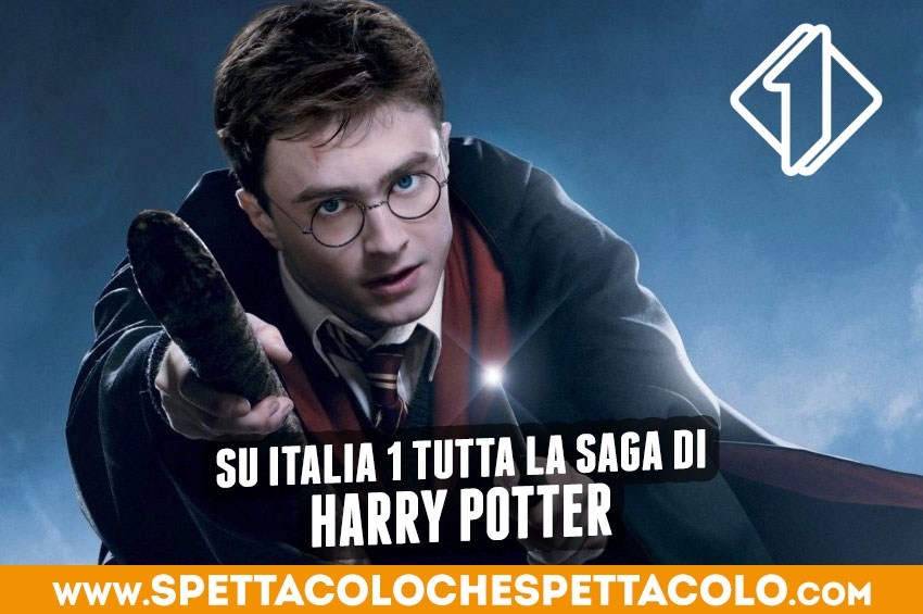 Tutta la saga di Harry Potter su Italia 1