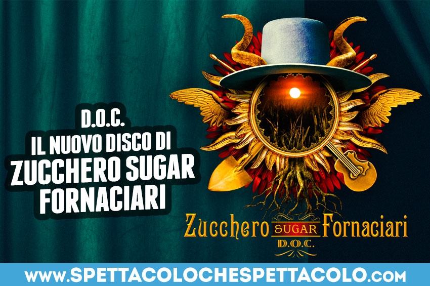 Zucchero, l'8 novembre esce D.O.C. il nuovo album
